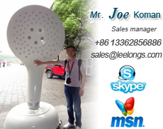 JOE KOMAN AT NINGBO LEELONGS SANITARY WARE