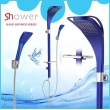 Leelongs Bathroom Alu Shower Set