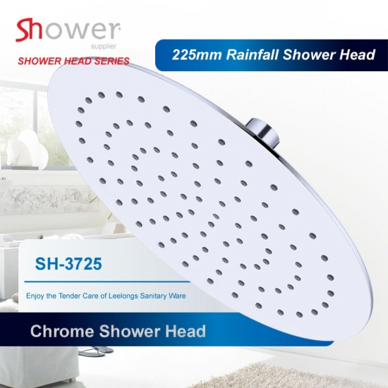 SH-3725 Bathroom Round ABS Chromed