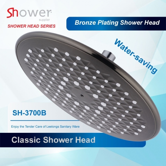 SH-3700B Bathroom 9 Inch Bronze